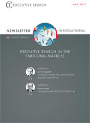 Cover Newsletter CT Executive Search Emerging Markets