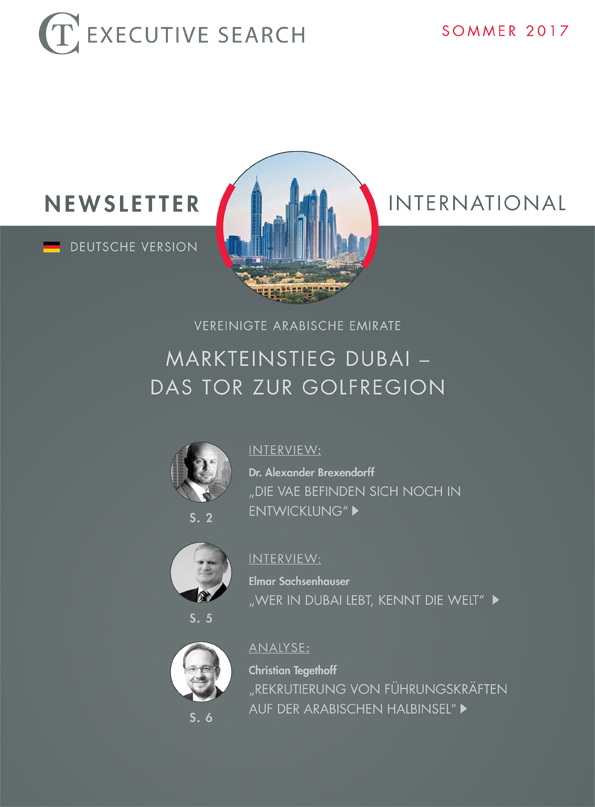 CT Newsletter Titel Golfstaaten