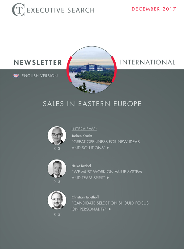 Cover Newsletter CT Executive Search Eastern Europe