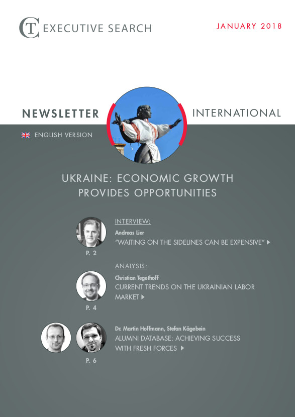 Cover Newsletter CT Executive Search Ukraine